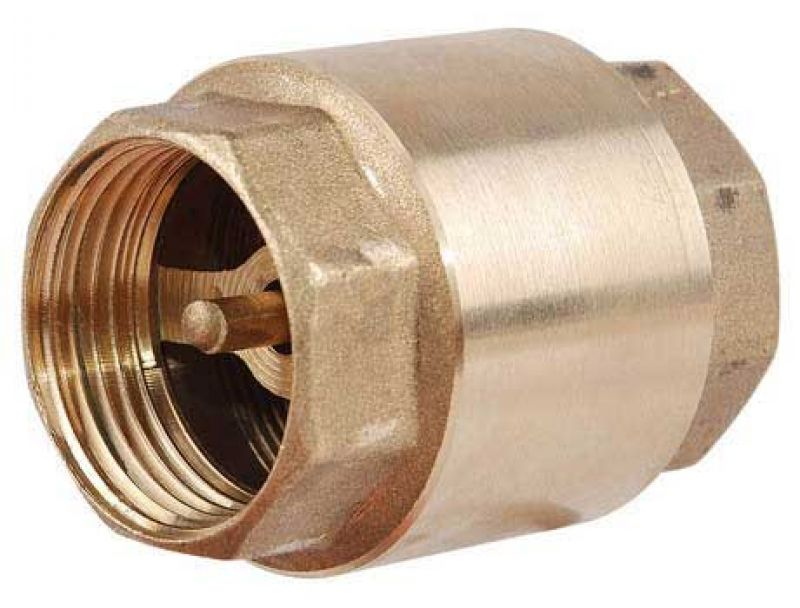 Клапан обратный резьбовой 1 нержавеющая сталь ф25